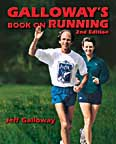 Galloways Book on Running cover